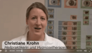 Hypnosetherapeutin Berlin Christiane Krohn Video